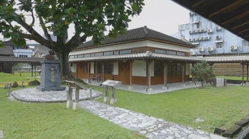 1909年成立的鐵道部花蓮港出張所園區建築(即現今的鐵道文化館)