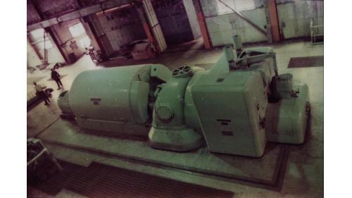 北部火力電廠1955年新完工之發電機組