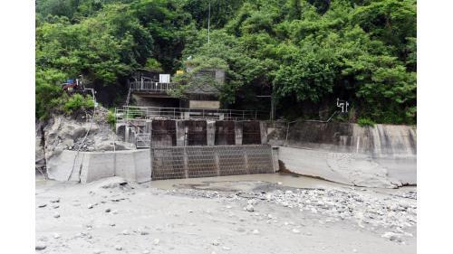 舊寮圳:竹子門發電廠入水口