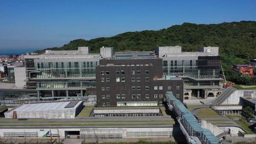 北部火力電廠舊址建成的國立海洋科學博物館