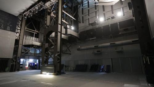 北部火力電廠昔日鍋爐房所在(海洋科博館內)