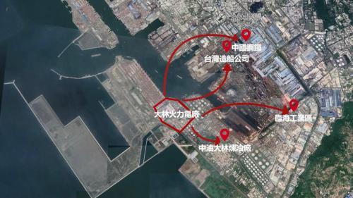 大林電廠電力供應支援的地區
