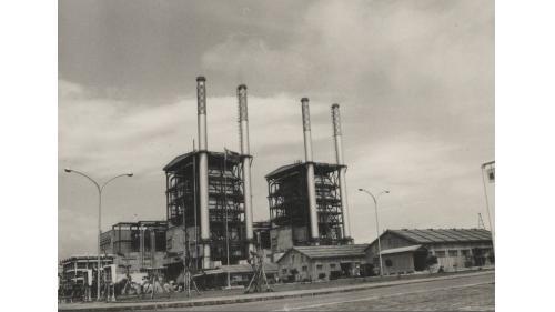 大林電廠1969年之一、二號機組