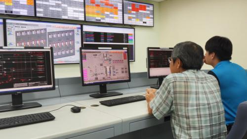 大林電廠新設模擬訓練中心