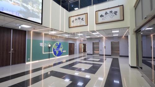 大林電廠火力發電模擬訓練中心大廳