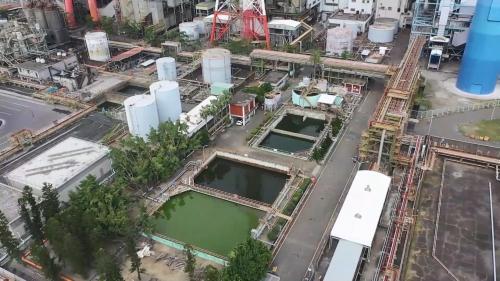 大林電廠之廢水處理廠