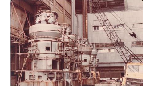 大林電廠機組改裝工程:1979年計畫改建,1984年第一號、第二號汽輪發電機組改燃煤工程完成