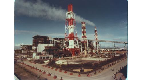 大林電廠改燃煤完成之一、二號機組及重建高130公尺之新煙囪