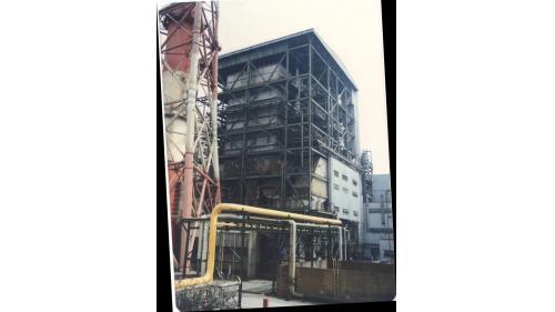 大林電廠機組改天然氣工程:1990年第五號汽輪發電機組與4部氣渦輪機改建成天然氣發電
