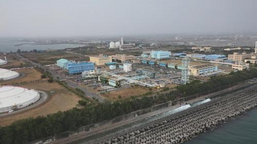 大林電廠天然氣來源永安天然氣接收站