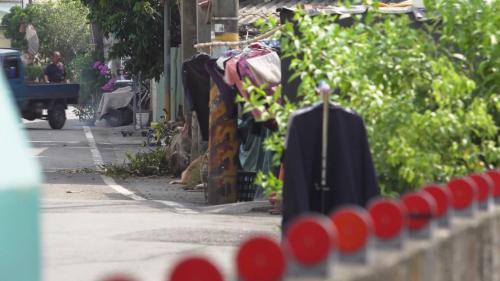舊寮圳:舊寮洗衣溝 村民又稱之為茄苳腳大圳洗衣場。