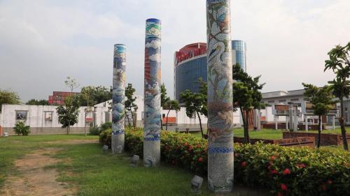 大林電廠原卸煤碼頭改建的紅毛港文化園區
