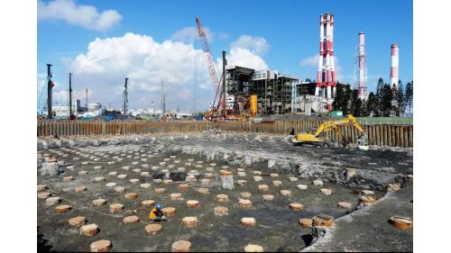 大林電廠新一號發電機組基樁工程之鍋爐島區基礎工程