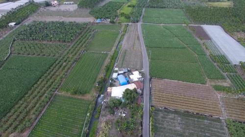 舊寮圳上空鳥瞰 舊寮舊圳是高樹開鑿最早,灌溉最具規模的圳道,也是文獻上記載由客家移民開鑿的水圳。