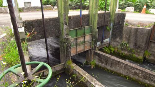 舊寮圳水閘門