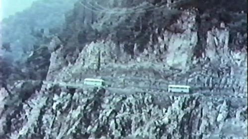 由榮工興建完成之的中部橫貫公路