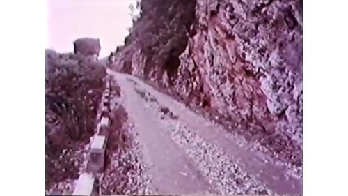 榮工處承建的棲蘭山林道工程