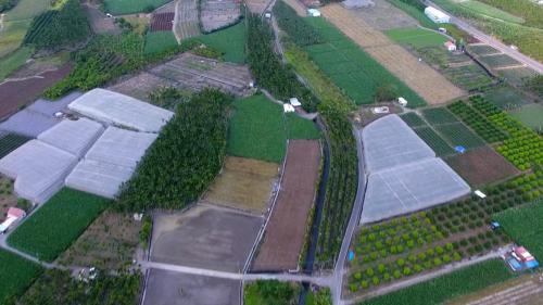 舊寮圳鳥瞰--舊寮圳水源可以供應到下游的高樹地區的2500公頃農地