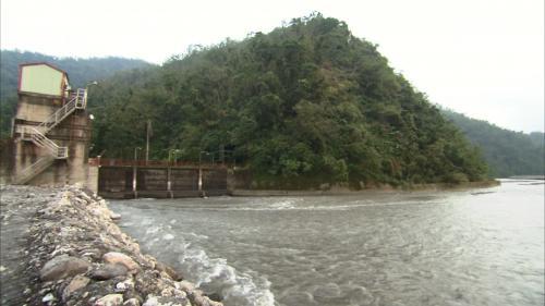 圓山電廠取水口