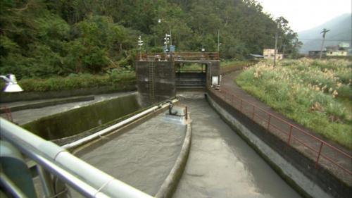 圓山電廠沉沙池入口