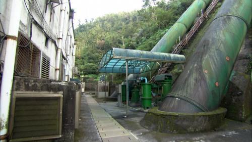 圓山電廠壓力鋼管