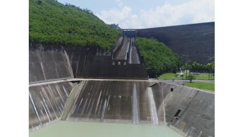 曾文水庫溢洪道於1973年5月31日完成
