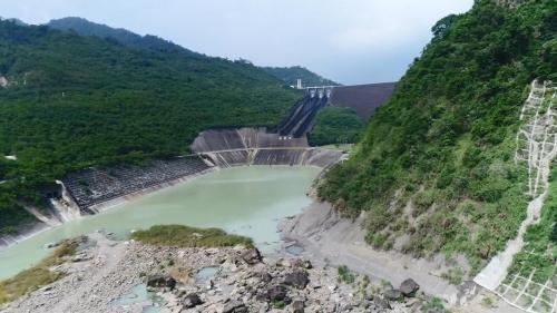 曾文水庫溢洪道與消洪能池