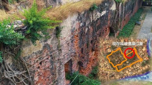 安平港:荷人興建熱蘭遮城引進新建築施工法,400年前由巴達維亞經印尼引進紅磚。磚與磚之間的黏著劑,使用糖水、糯米汁、牡礪殼灰攪合在一起,成為堅固的三合土,因荷人紅髮因此亦稱「紅毛土」