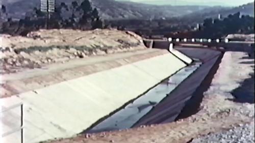榮工處興建的石門水庫周邊渠道完工