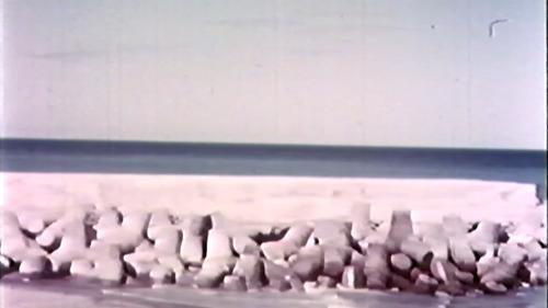 榮工處承造的大武漁港工程
