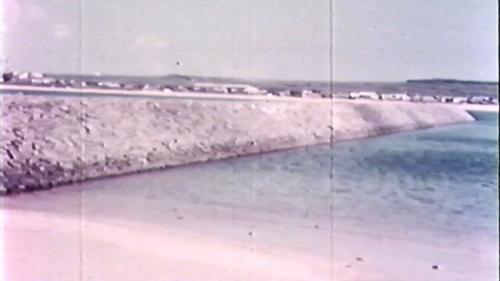 榮工處承辦的龍門漁港工程