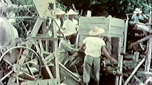 榮工處專業化的橋樑工程隊橋樑預力梁工法施工中-設置混凝土拌合機