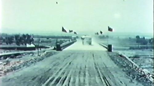 榮工處專業化的橋樑工程隊橋樑施工完成的橋樑