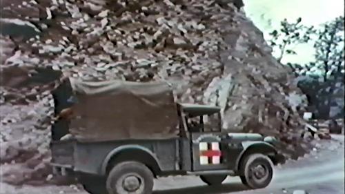 早期榮工的醫療救護車