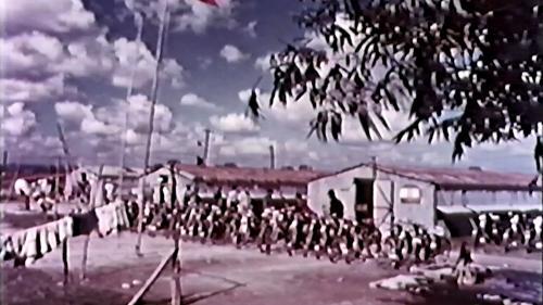 早期榮工在工區的宿舍