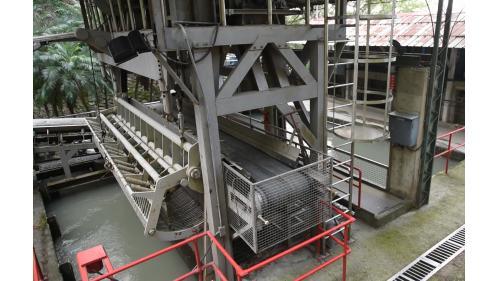 大安溪后里電廠前池及耙污機