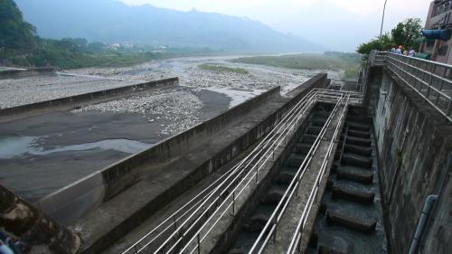大安溪士林攔河堰水池式魚道