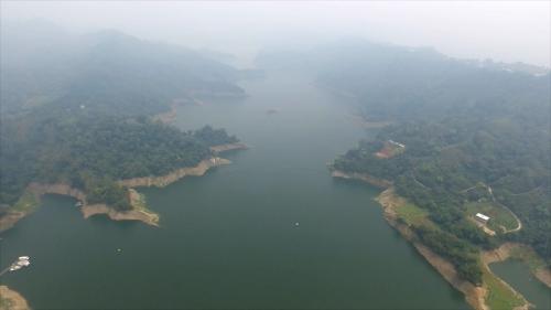 由大安溪士林攔河堰越域引水的鯉魚潭水庫