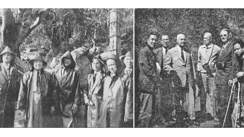 1952年受聘來台協助完成石門水庫計畫概要報告的美國內政部墾務局之大壩及地質專家