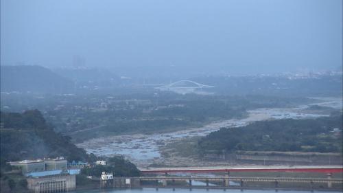 石門水庫水源之大漢溪俯瞰