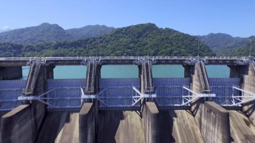 石門電廠水源石門水庫溢洪道閘門