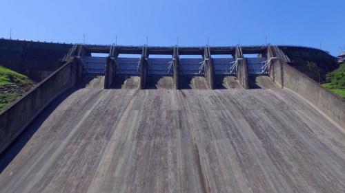 石門電廠水源石門水庫溢洪道
