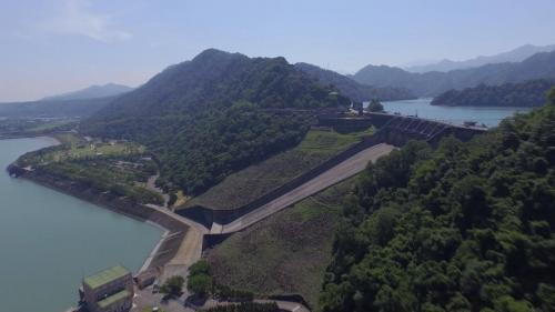 石門電廠與石門水庫