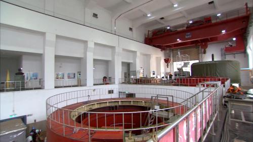 石門電廠發電機組(檢修中)