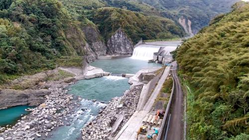 石門水庫集水區分期治理第一期計劃興建的義興壩