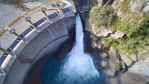 石門水庫上游榮華壩