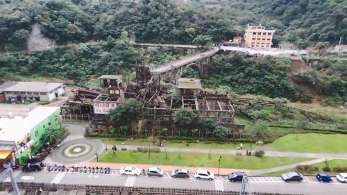 南部火力電廠機組燃料煤炭來源瑞芳區的猴硐礦坑舊址