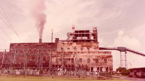 南部火力電廠舊汽輪發電機組廠房