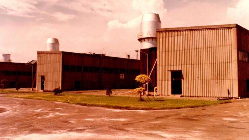 南部火力電廠氣渦輪機組廠房
