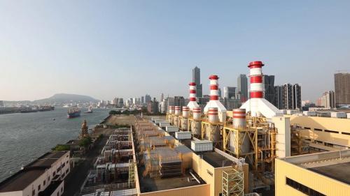 南部火力電廠新建三部複循環機組廠房